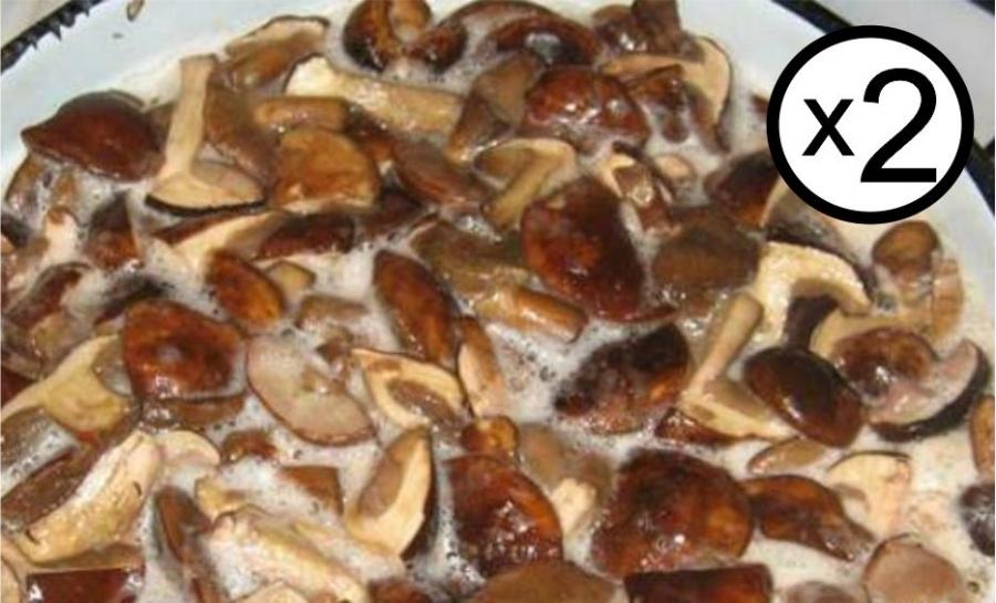 Как надо приготовить грибы