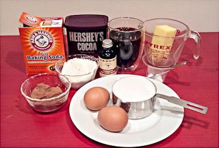 Рецепт Брауни с кофе эспрессо
