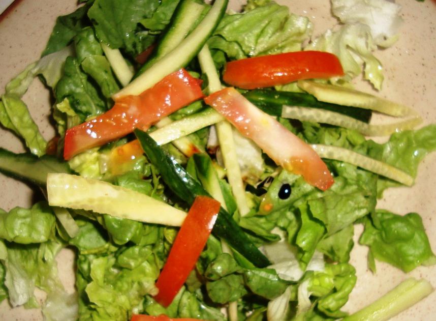 Рецепт Салат из куриной печени с горчицей