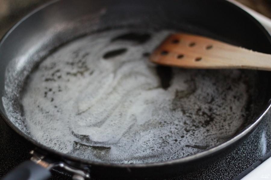 Фетучини с лососем в сливочном соусе - фото шаг 4