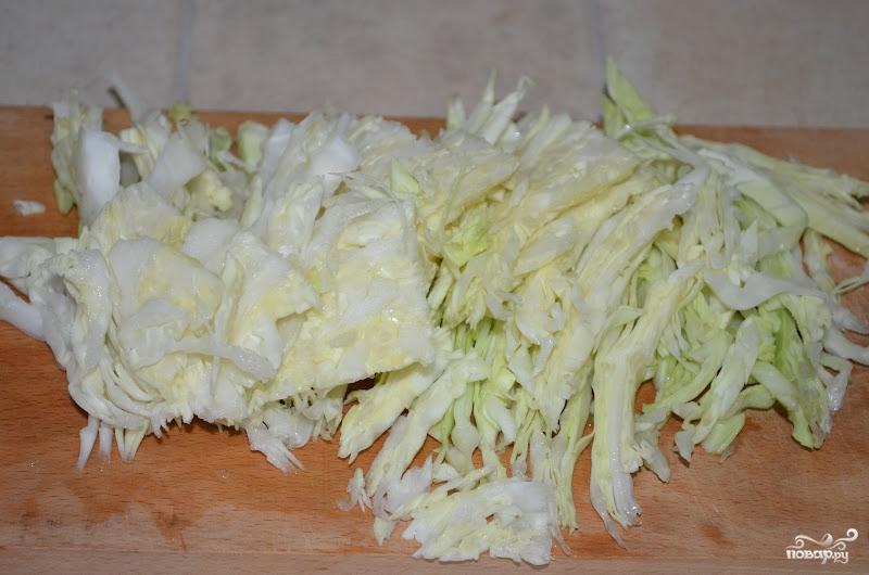 Тушеная капуста на сковороде - фото шаг 6