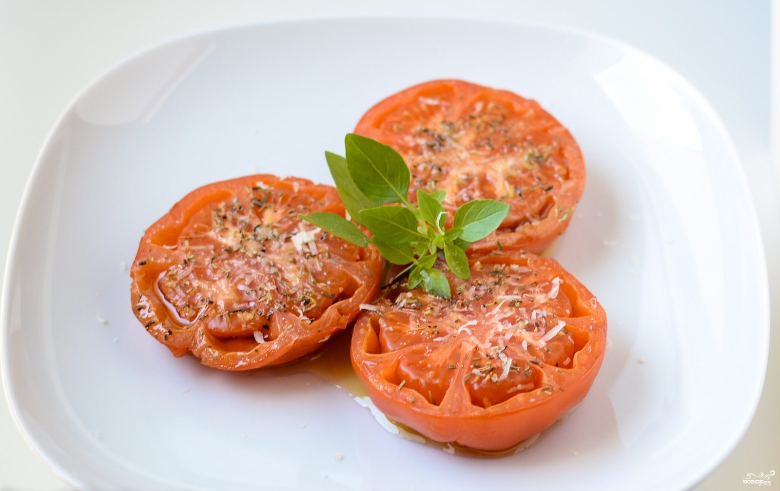 Запеченные томаты