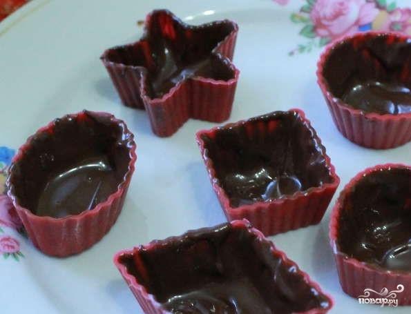 Конфеты с начинкой - фото шаг 3