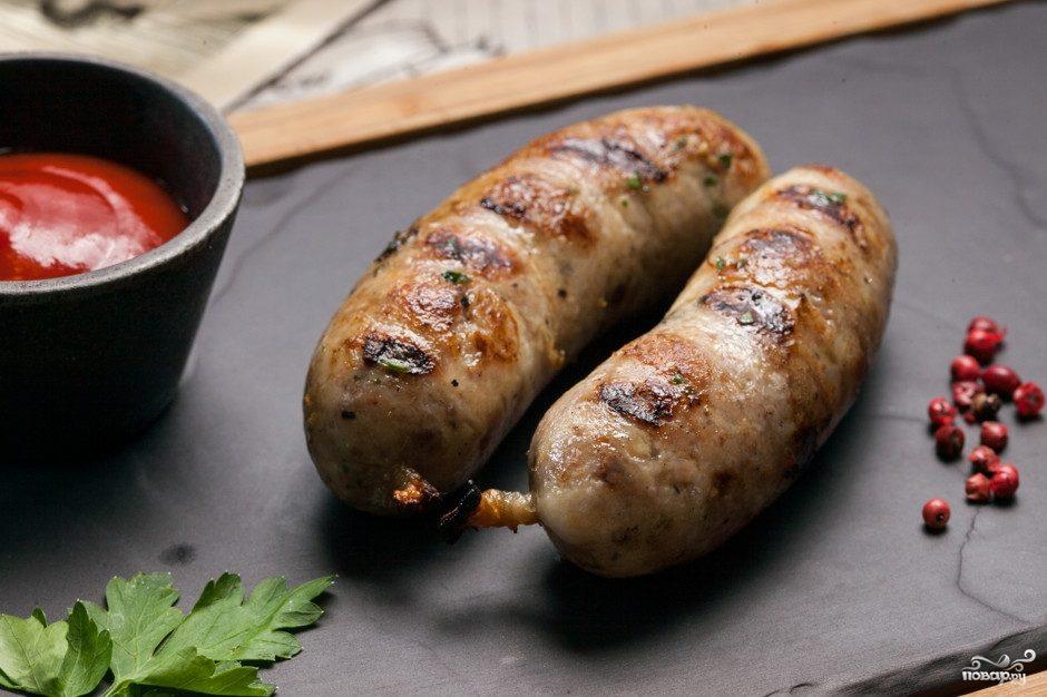 готовые колбаски гриль в духовке рецепт с фото
