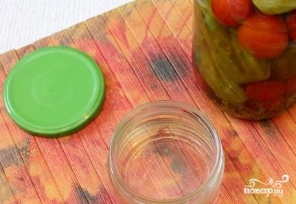 Горчица на огуречном рассоле - фото шаг 1