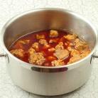 Рецепт Капуста тушеная с мясом