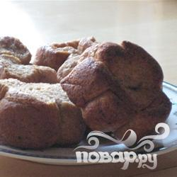 Рецепт Ржаное печенье Аккордеон