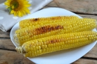 Запеченная молодая кукуруза