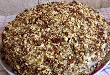 "Шоколадный торт на кефире ""Фантастика"" - фото шаг 4"