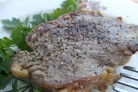 Сочный стейк из говядины