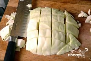 Рецепт Капуста с креветками