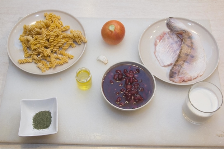 Рецепт Судак под сливочным соусом