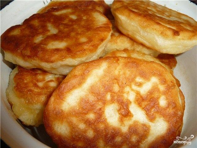 Рецепт Пирожки с яблоками жареные