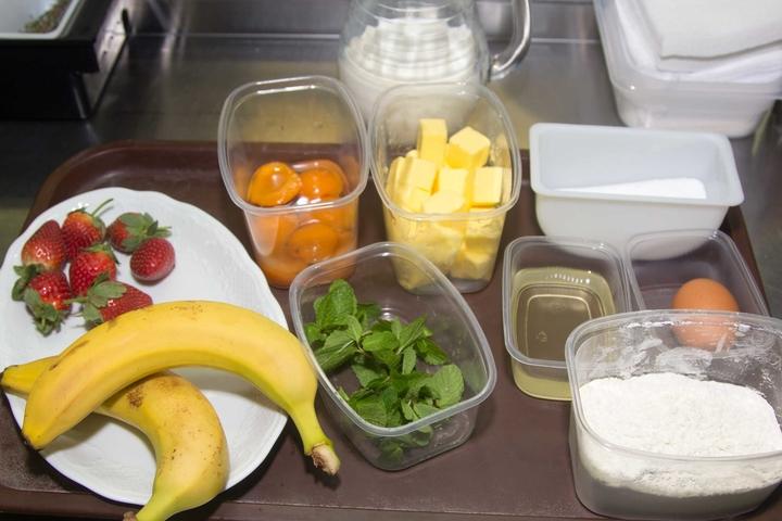 Рецепт Блинчики с фруктами