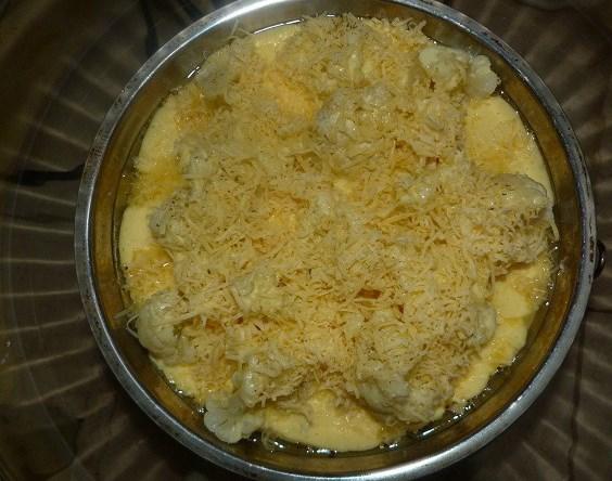 Цветная капуста с сыром в мультиварке - фото шаг 6