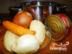 Суп из тушенки - фото шаг 1