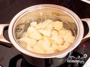 Рецепт Грибной суп-пюре из шампиньонов