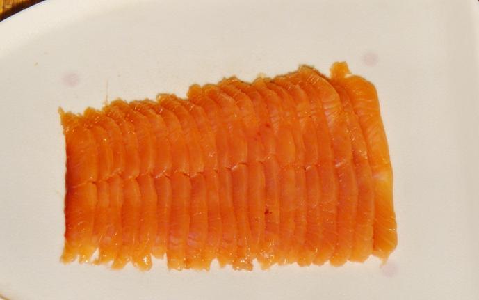 Рецепт Лаваш, фаршированный красной рыбой
