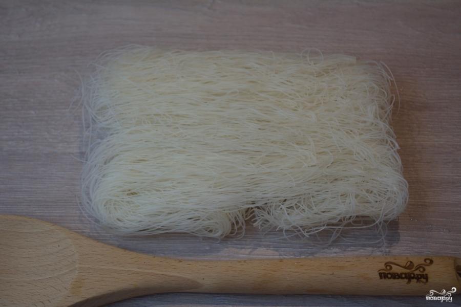 Рисовая лапша с овощами - фото шаг 3