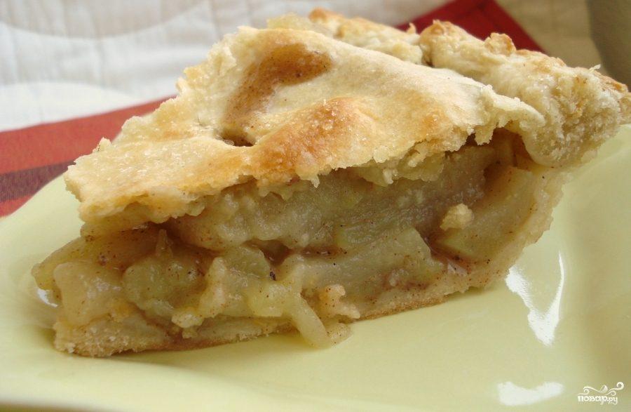 Рецепт Творожно-яблочный пирог