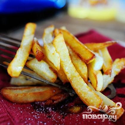 Картофель-фри по-французски - фото шаг 6
