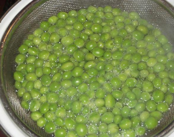 Рецепт Закатка зеленого горошка