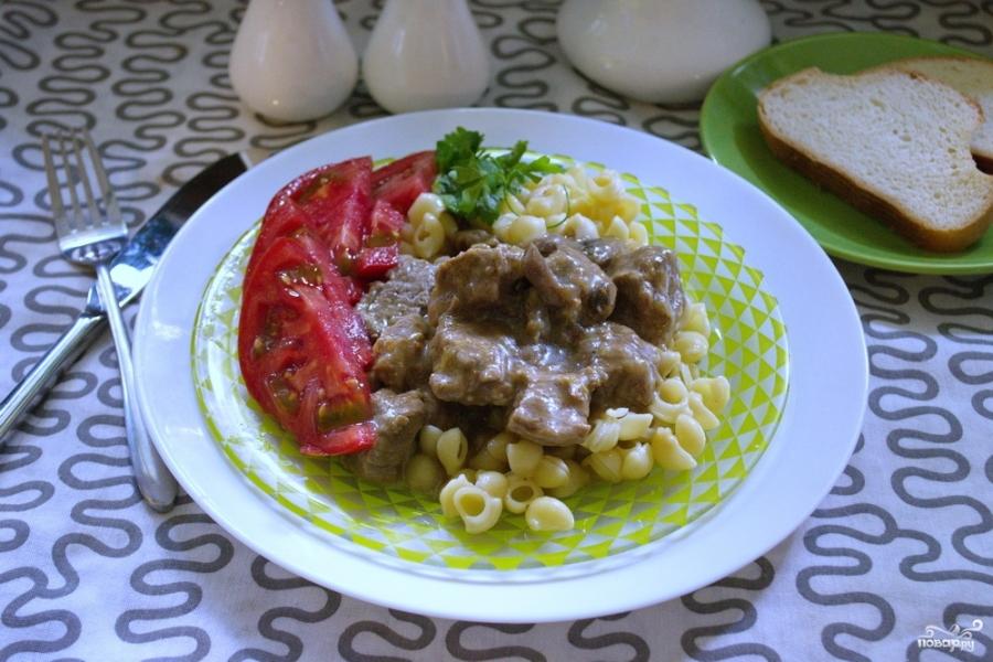 рецепты из телятины в духовке с овощами