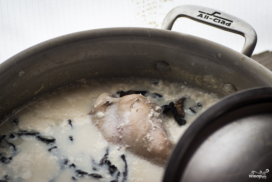 кролик в молоке рецепт с фото
