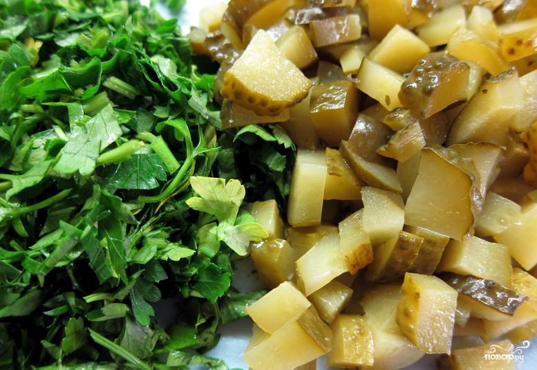 Солянка с маслинами и лимоном - фото шаг 5