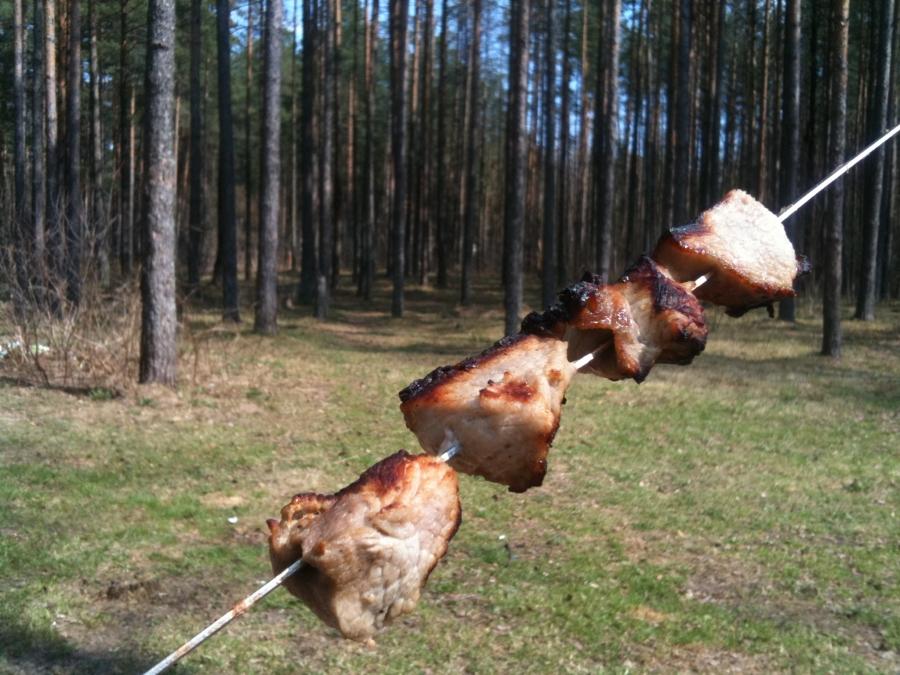 Куриный шашлык с уксусом и луком - фото шаг 3