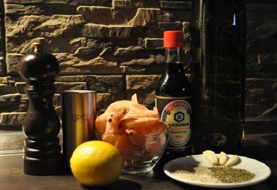 Рецепт Креветки в соевом соусе