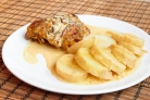 Курица в молоке с шафраном и лимонной цедрой