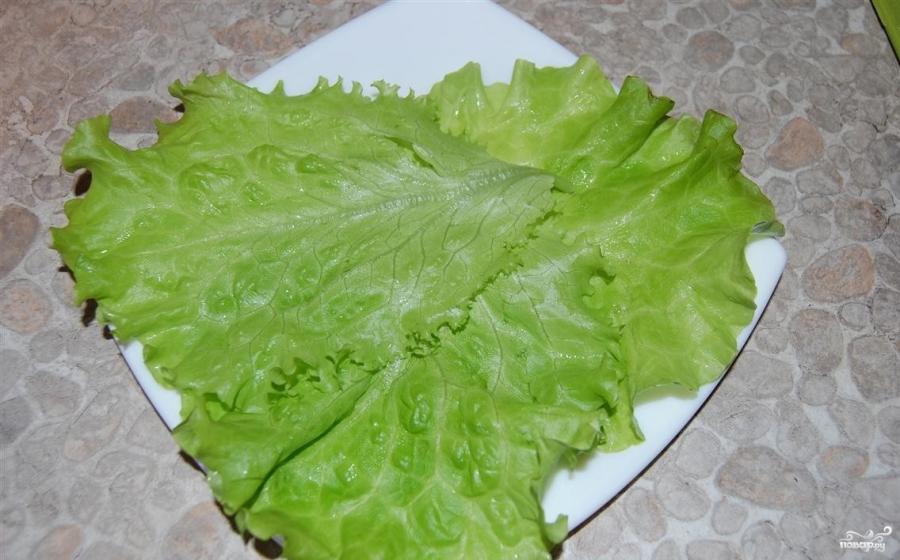 Салат горчичный - фото шаг 4