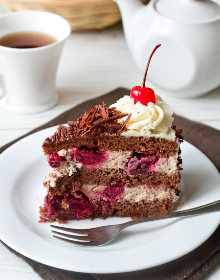 "Торт ""Черный лес"" - фото шаг 13"