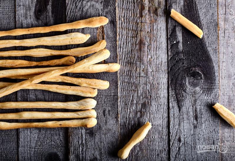 Итальянские хлебные палочки гриссини с орегано - фото шаг 6