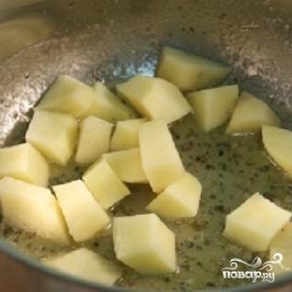 Крем-суп из зеленого горошка - фото шаг 2