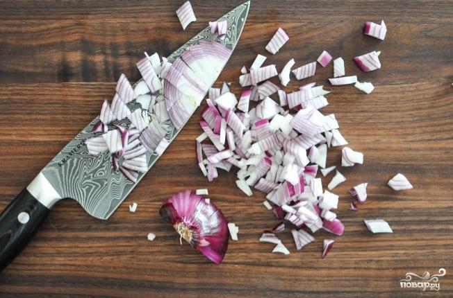 Салат с фрикадельками - фото шаг 3