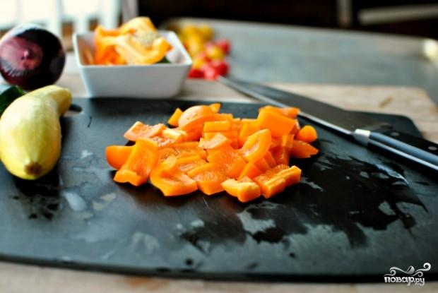 Кускус с овощами - фото шаг 2