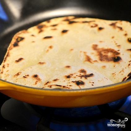 Домашние лепешки тортильяс - фото шаг 7