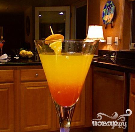 Мартини Пряный грейпфрут - фото шаг 4