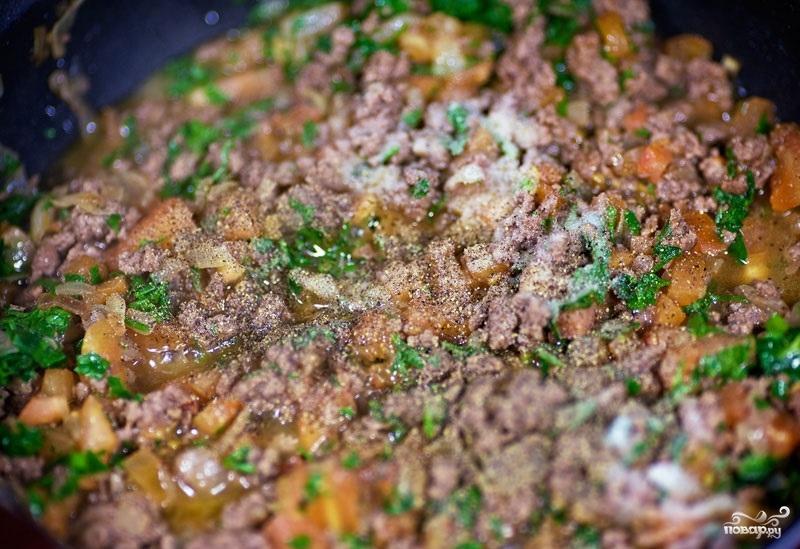 Картофель с фаршем в духовке - фото шаг 8