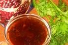 Гранатовый соус для шашлыка