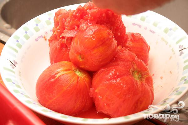 Мясо по-итальянски в томатном соусе - фото шаг 4