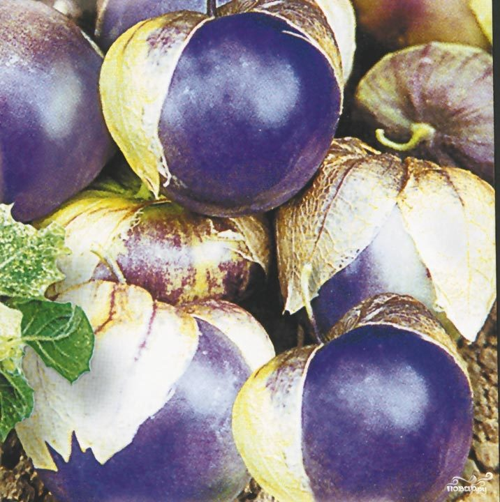 Рецепт Варенье из сливового физалиса