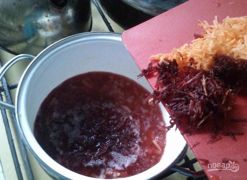 как приготовить борщ с цветной капустой