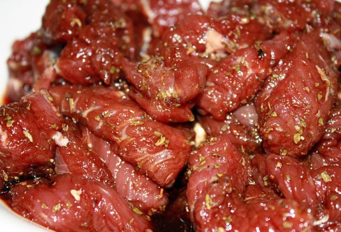Рецепт Гречневая лапша с говядиной