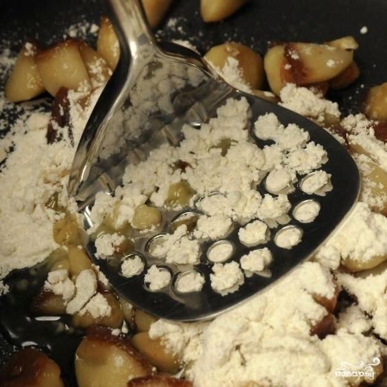 Чесночный крем-суп - фото шаг 5