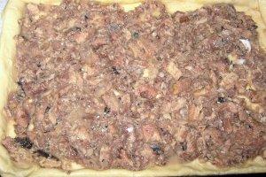 Открытый пирог с рыбой - фото шаг 3