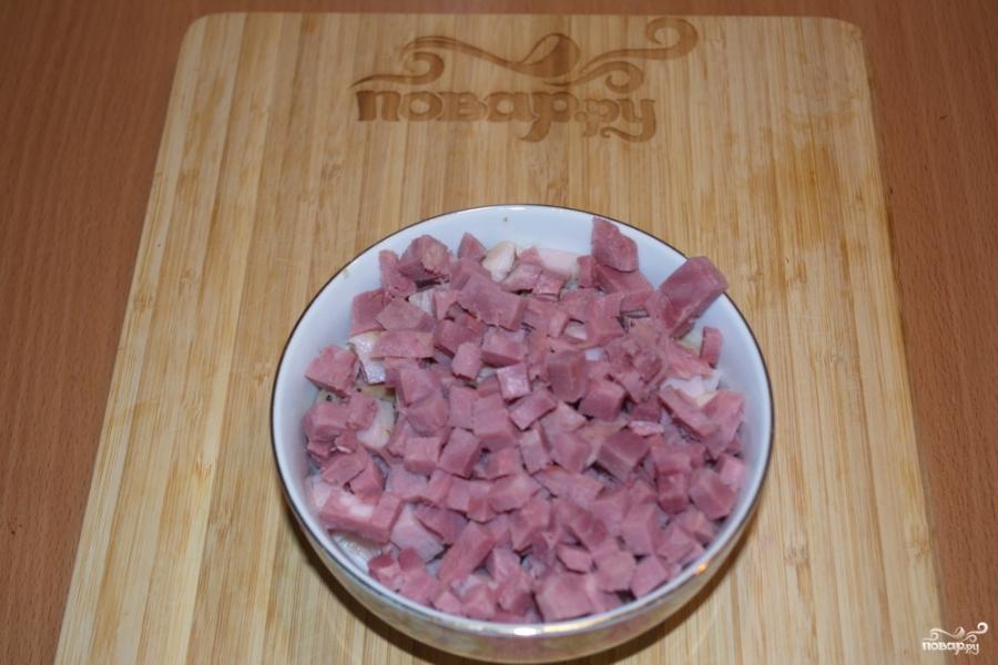 Солянка сборная с колбасой - фото шаг 3