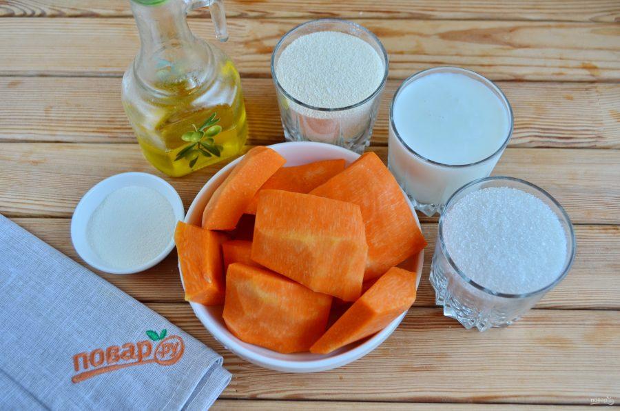 Тыквенный манник рецепт на молоке
